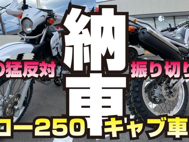 セロー250購入(中古)
